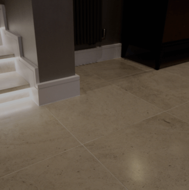 Floor tiling for bathrooms, kitchens & around the home