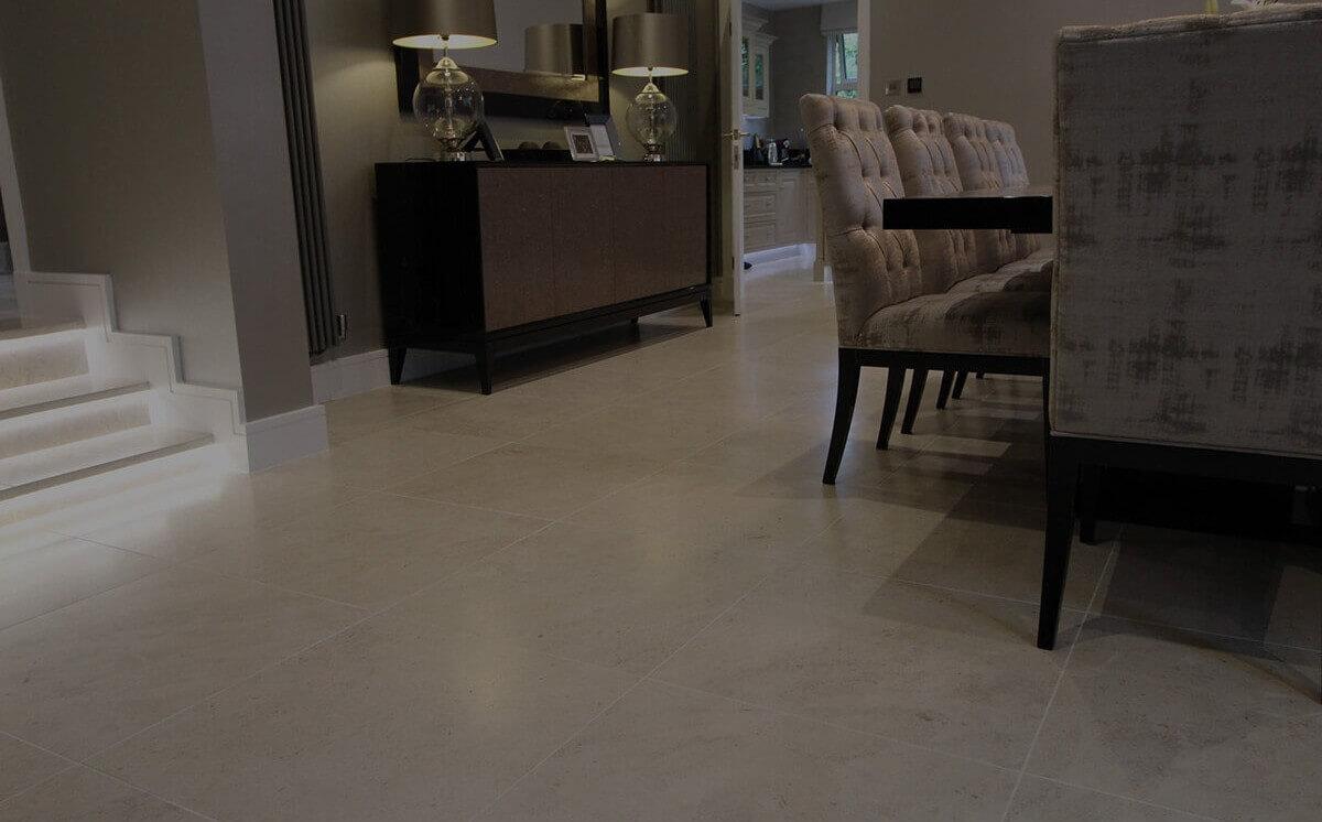 Stunning floor tiling