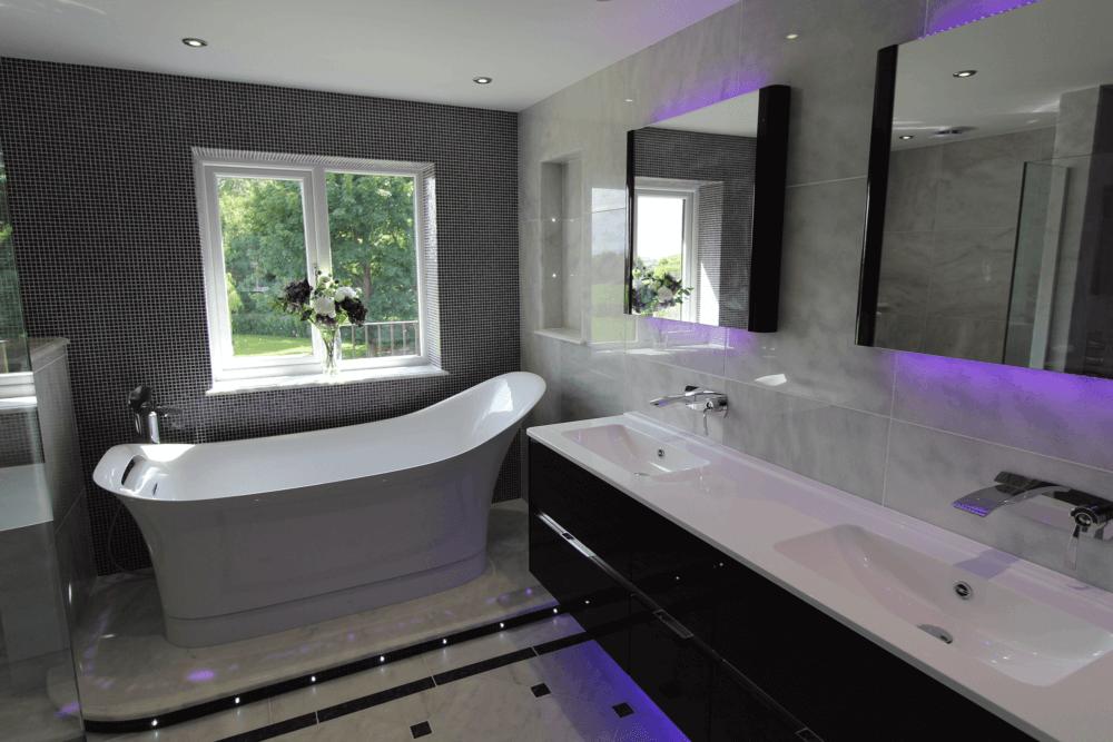Mosaic Tiled Bathroom Harrogate Tiler Prd Ceramics Prd Ceramics
