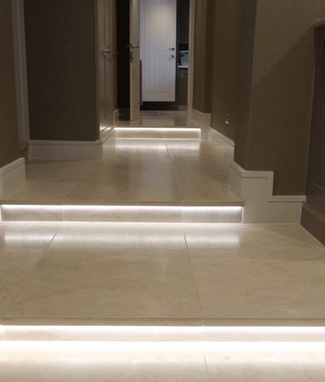 Prestine floor tiling by Harrogate tiler PRD Ceramics