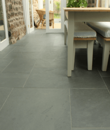 Slate floor by Harrogate tiler PRD Ceramics