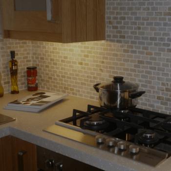 Bespoke tiling for kitchens