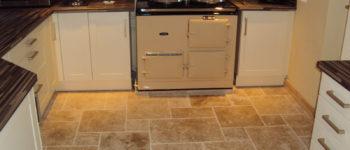 Beautiful kitchen tiling by Harrogate tilers PRD Ceramics