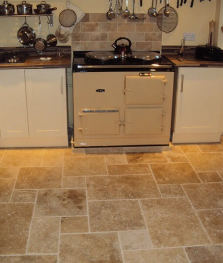 Beautiful kitchen tiling by Harrogate tilers PRD Ceramics
