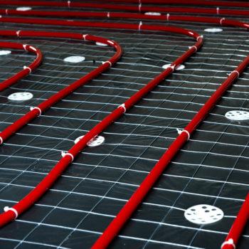 Underfloor heating installation in Harrogate